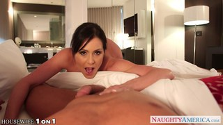 Housewife Kendra Lust take cock in POV style