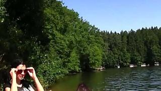 European amateur lesbians licking in woods