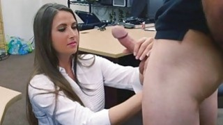 He slammed her wet pussy with his big and hard dick