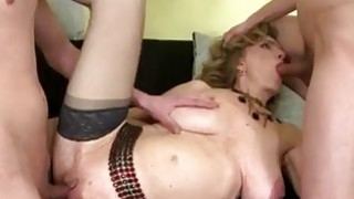 Kinky matures gangbanged in bdsm swinger orgy Thumbnail