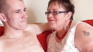 AgedLove Fat mature Honey hardcore with Sam Bourne