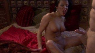 Bitchie brunette Maya Gates gets her anus banged from behind Thumbnail